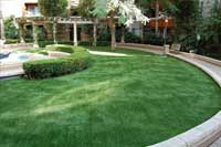 Pasto artificial para jardines